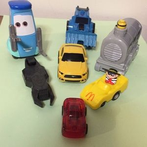 Assortment of toy vehicles as shown in pics